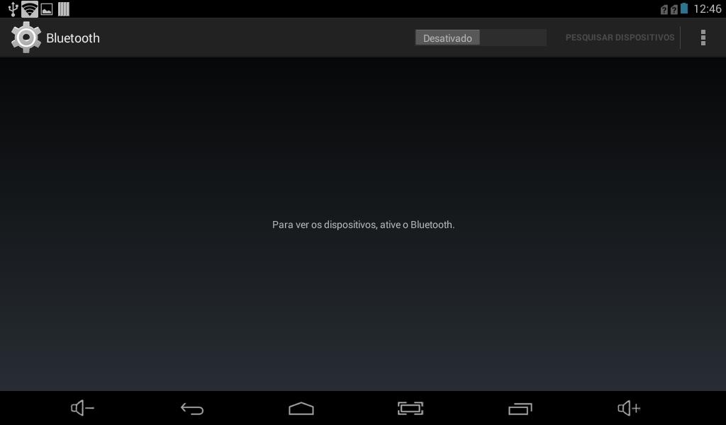 Abrindo a tela de Bluetooth Settings no Android via linha de comando