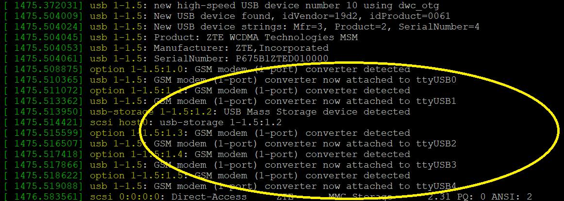 Colocando um Modem USB na Raspberry - Framework